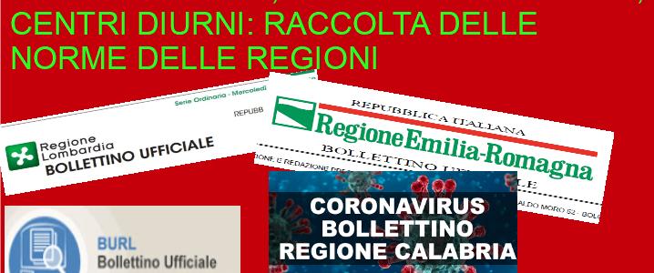 Covid19 – Raccolta delle normative delle Regioni