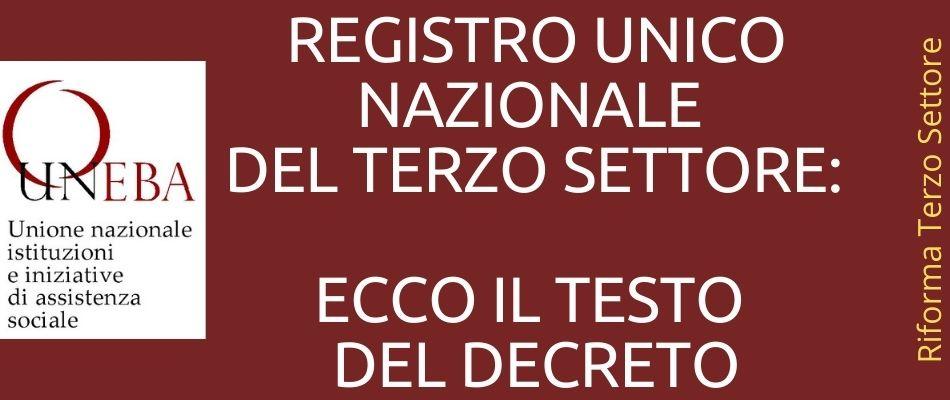 Registro Unico Nazionale del Terzo Settore: ecco come iscriversi