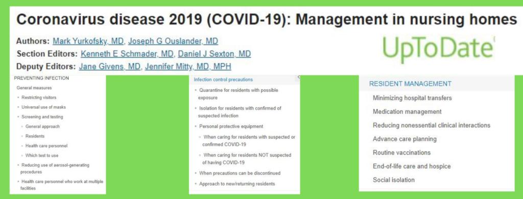 Come gestire pazienti Covid in Rsa: indicazioni per i medici