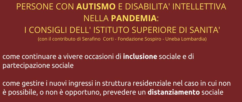 Aiutare le persone con disabilità durante la pandemia: indicazioni dell'Istituto Superiore di Sanità