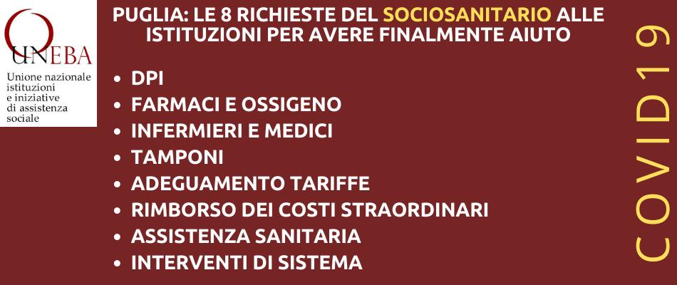 Puglia, il sociosanitario alza la voce: al posto di darci aiuti, ci avete tolto infermieri e mandato i Nas