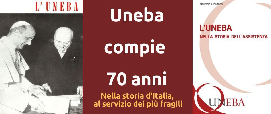 1950-2020: 70 ANNI DI UNEBA – Il libro di Maurizio Giordano
