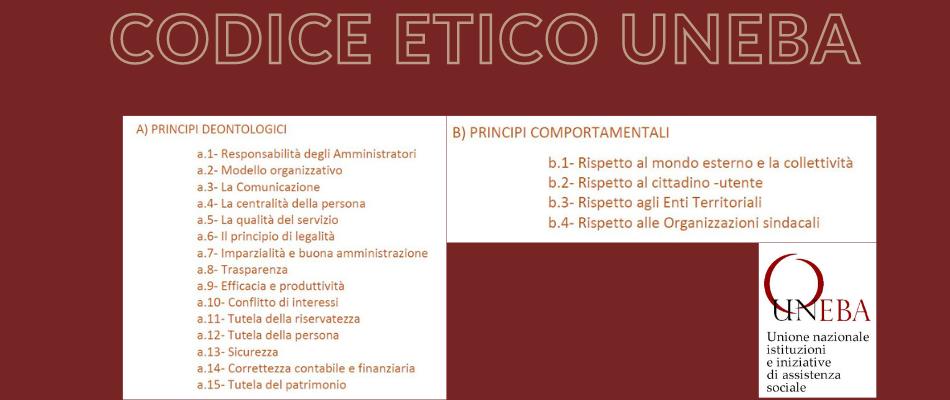 Codice Etico Uneba