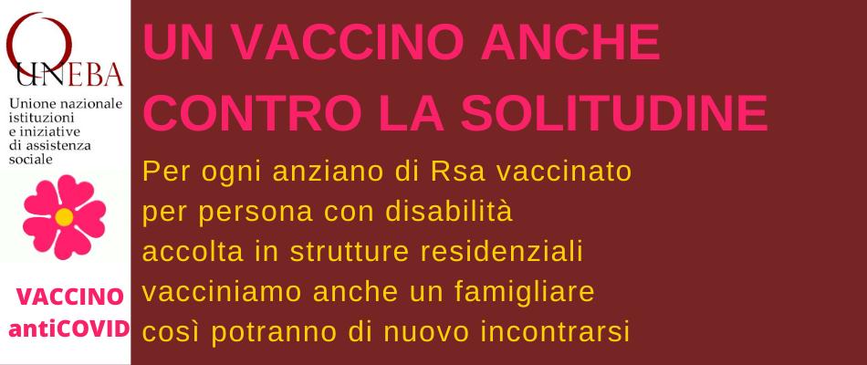 Uneba: vacciniamo anche un famigliare per ogni anziano delle Rsa