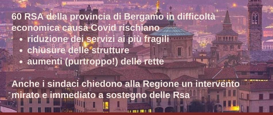Futuro cupo per le Rsa: Uneba Bergamo chiede ascolto a Moratti e Pavesi