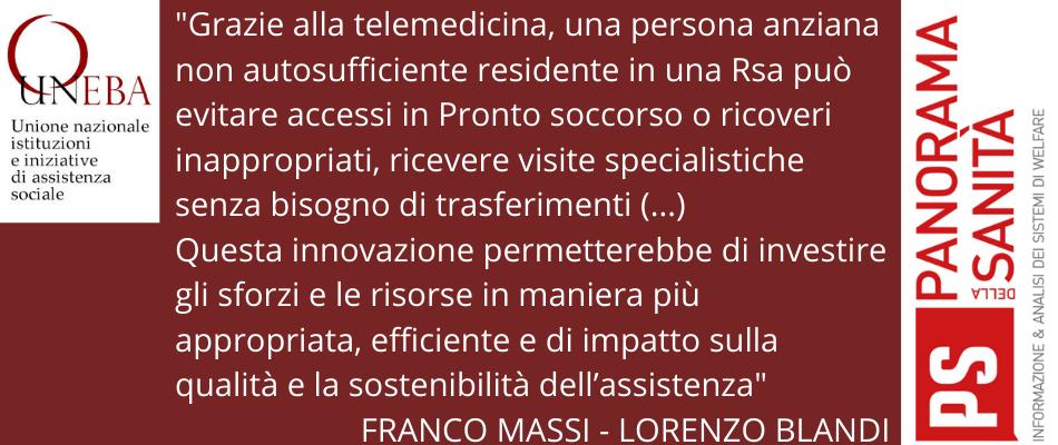 La telemedicina nelle Rsa per anziani