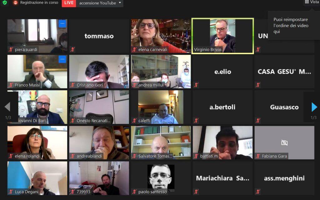 VIDEO – Il PNRR e la fragilità, webinar Uneba con Carnevali e Gori