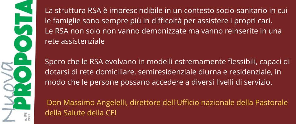 Il futuro di RSA e SSN – Intervista a don Massimo Angelelli