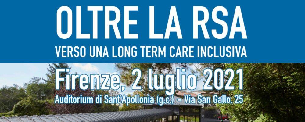 Rsa del futuro – Proposte alla politica sul PNRR: Uneba al convegno di Firenze del 2 luglio