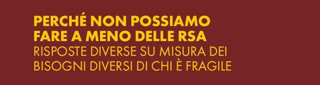 Non possiamo fare a meno delle Rsa – Conferenza stampa con Trabucchi, Sebastiano, Massi, Degani, Toso