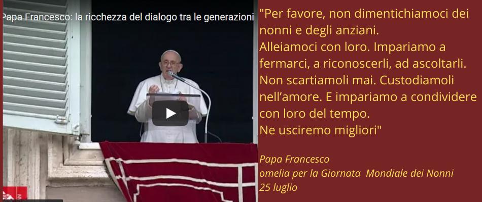 Giornata mondiale degli anziani: l'omelia di Papa Francesco