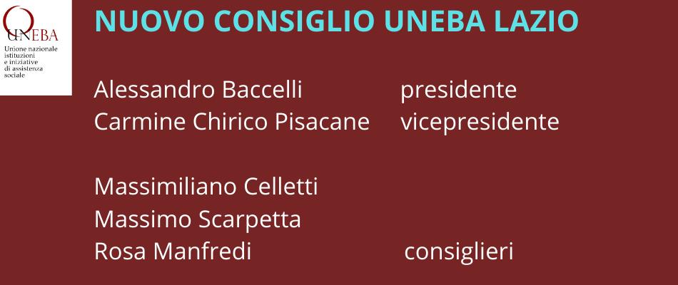 Uneba Lazio: Baccelli presidente, Chirico Pisacane vicepresidente