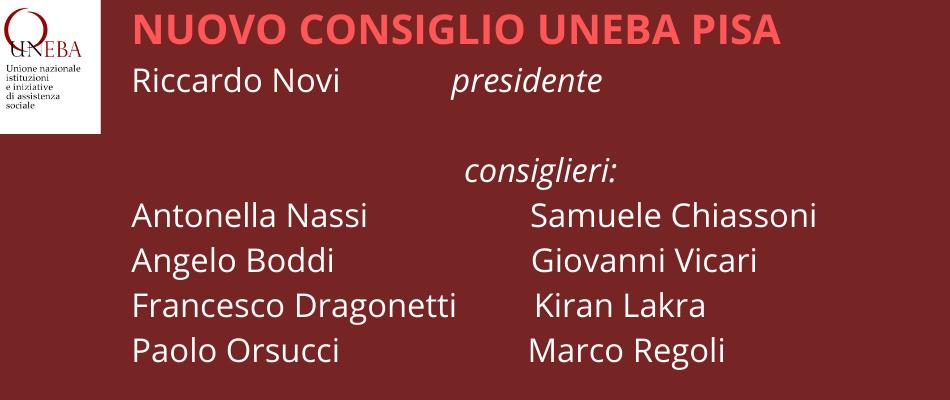 Uneba Pisa, Riccardo Novi nuovo presidente