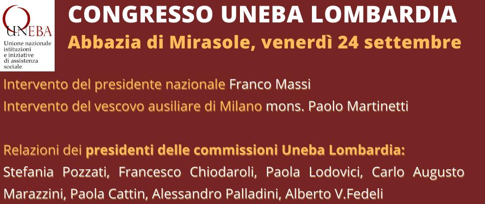Congresso Uneba Lombardia 2021